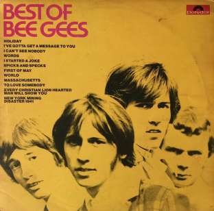 Bee Gees - Best Of Bee Gees (LP) (VG/G)